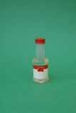 bottle of almond flavouring poster