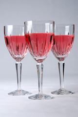 glasses of zinfandel