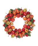 pomegranate wreath poster