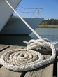 sailboat's rope