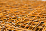 rusty iron net