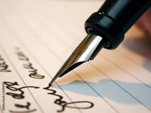 man writing a contract - 3086910