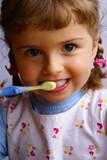 Fototapety brushing teeth