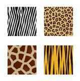animal skins patterns poster