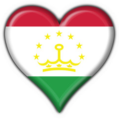 bottone cuore tajikistan button heart flag