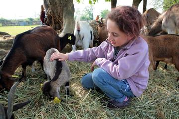 animaux et enfant