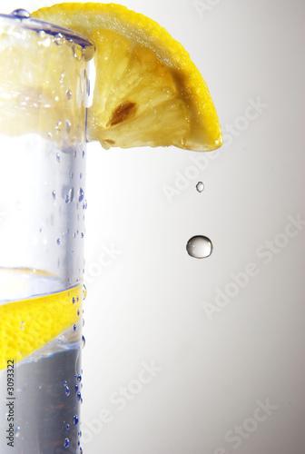 Leinwanddruck Bild lemon splash 1