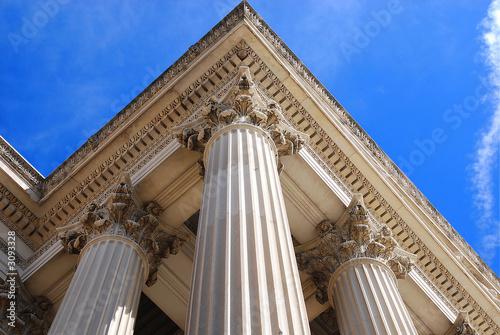 triangle columns
