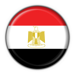bottone bandiera egitto - egypt button flag