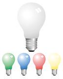 opaque light bulbs poster