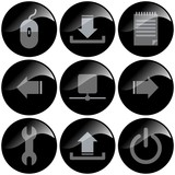 icon symbol administration poster