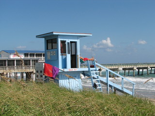 lifeguard hut in florida