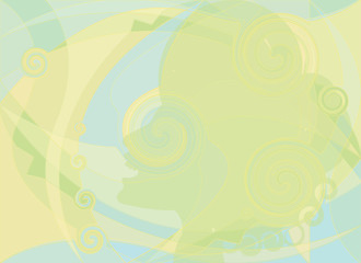 female green silhouette