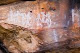 ancient rock art poster