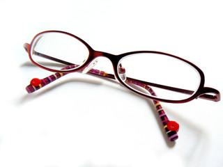 lunettes rouges