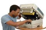 copier repair poster
