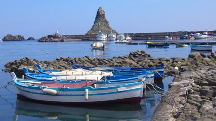 barche di acicastello