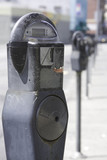 parking meter 4 poster