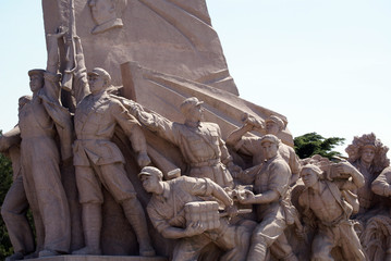 heroism in stone
