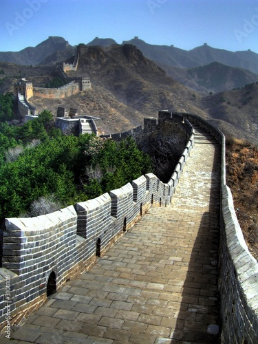 Foto op Plexiglas Chinese Muur great wall - china