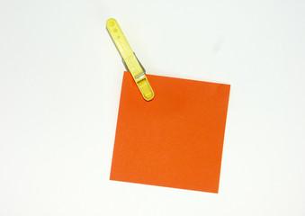 post-it orange
