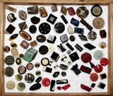collection de boutons poster