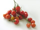 clusters of small tomatoes poster