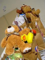 grab bags full of toys