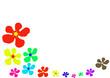 page de fleurs
