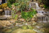 cute little garden waterfalls