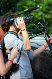 cameraman et photographe poster