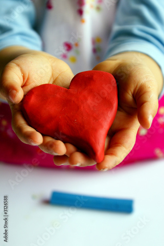 heart on hands
