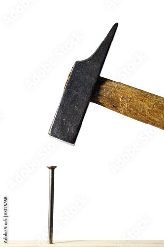 hammer und nagel stockfotos und lizenzfreie bilder auf. Black Bedroom Furniture Sets. Home Design Ideas