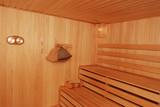 sauna interior poster