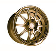 golden car rim