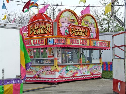 concession stand at the carnival