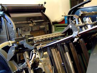 druckmaschine antik