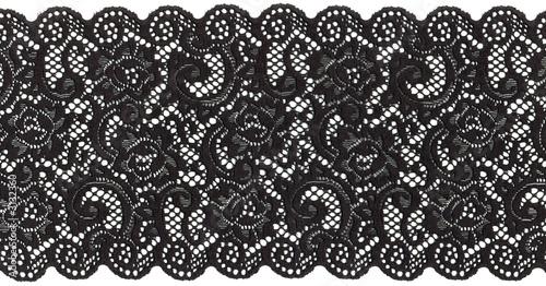 canvas print picture black lace