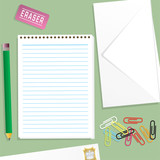 letter writting kit poster