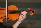 play violin string instrument music poster