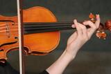 play string instrument violin poster
