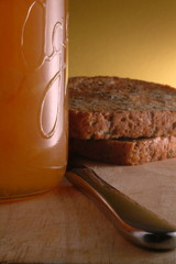 homemade marmalade and toast