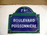 boulevard poissonnière poster