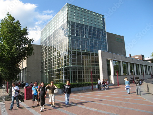 Canvas Amsterdam van gogh museum, amsterdam