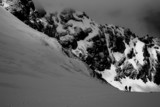 alpine trekking poster