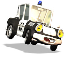 cartoon car no. 13