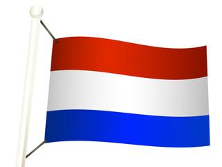 drapeau hollandais