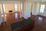 open floorplan, kitchen, livingroom, diningroom poster