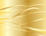 wavy vector design poster