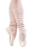 legs in ballet shoes 1 poster